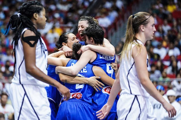 Rae Lin D'Alie nails go-ahead basket as Italy stuns USA to gain Fiba 3x3 World Cup semis