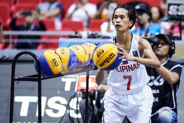 Perlas Pilipinas star Janine Pontejos rules Fiba 3x3 World Cup shootout