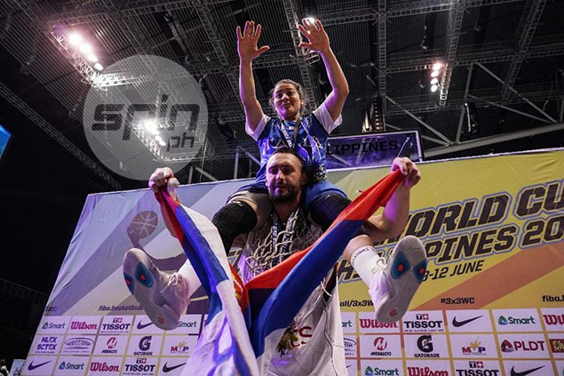 MVP Dusan Bulut reaffirms status as world's top 3x3 player; Rae Lin D'Alie wins women's award