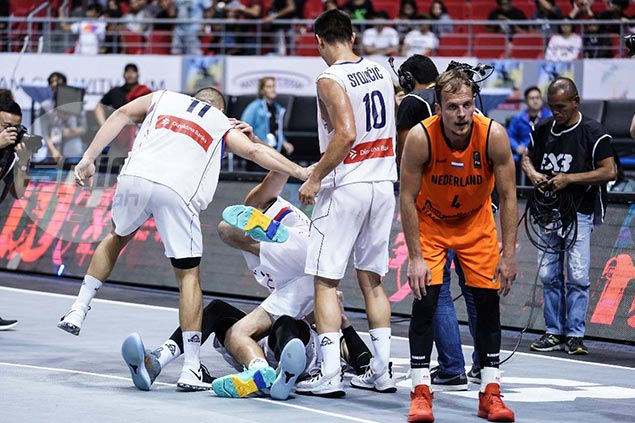 Serbia completes hat-trick of Fiba 3x3 World Cup titles by beating Netherlands in final