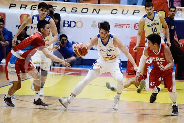 Uichico far from happy after Gilas cadets round out Filoil Cup stint with rout of EAC