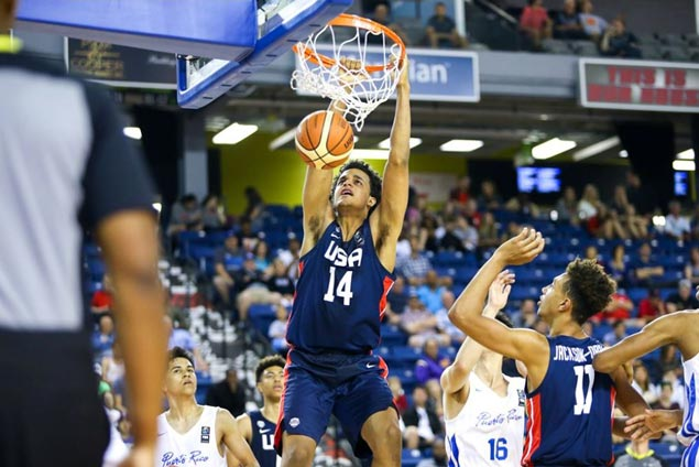 Team USA completes sweep of Fiba Americas U18 group play with rout of Puerto Rico