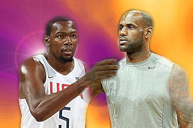LeBron and KD in L.A.?