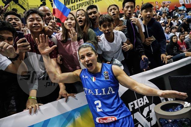 Great Italian job rewards diminutive Rae Lin D'Alie with plenty of new Filipino fans