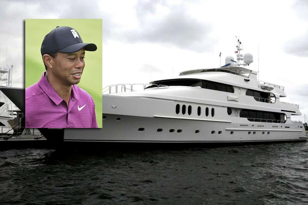Tiger Woods stays in his $20M yacht Privacy while competing in US Open at Shinnecock