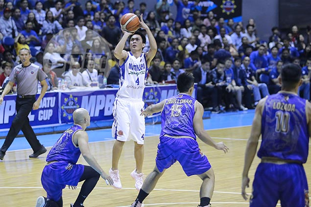 Mangahas, Muntinlupa spoil Ray Parks debut in MPBL with impressive win over Mandaluyong