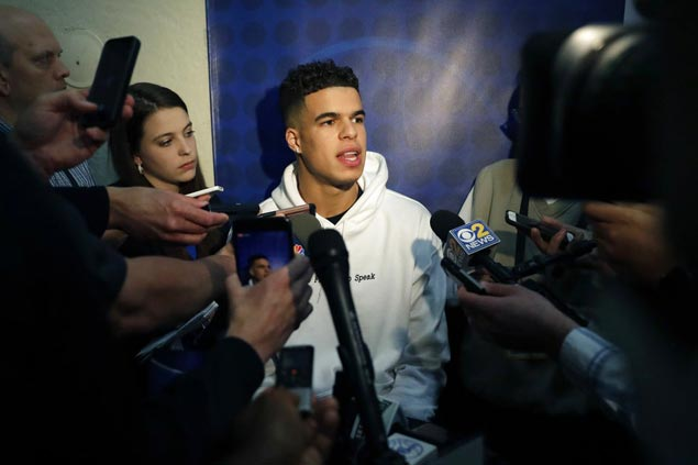 Tests on Michael Porter's back return clean after NBA lottery prospect cancels pro day workout