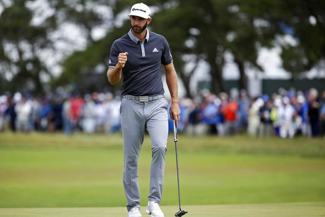DJ plays smart to avoid trouble and seize four-stroke lead in US Open