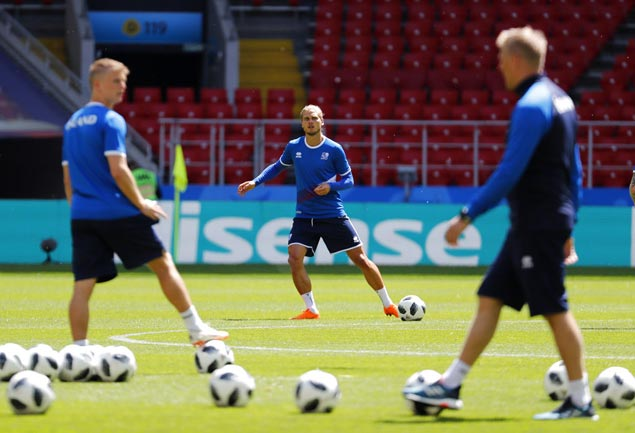 Tiny Iceland has no fear heading into World Cup opener against Messi-led Argentina