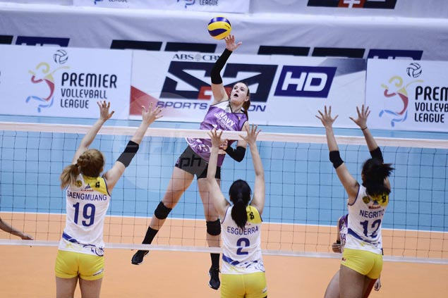 Lauren Whyte takes charge as Iriga Navy overcomes Tacloban in five sets