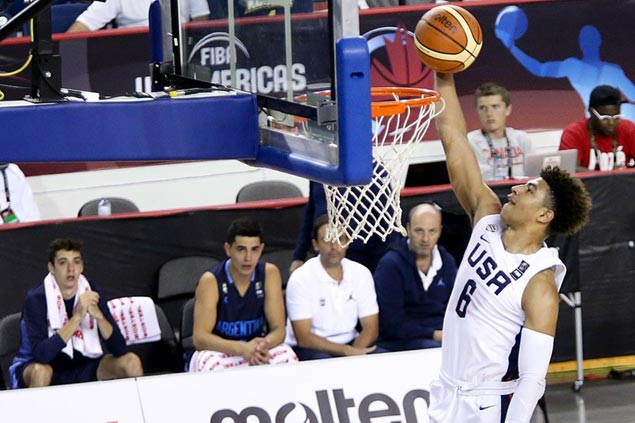 US cruises to Fiba U18 Americas final with big victory over Argentina