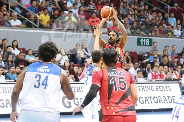 Renaldo Balkman drops 43 as San Miguel holds off TNT in heated finals rematch