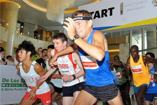 World's fastest stair-climbers converge in Kerry Sports Manila Vertical Run