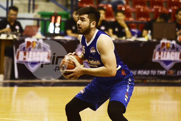 Andre Paras eager to bounce back as CEU spoils his D-League comeback with AMA