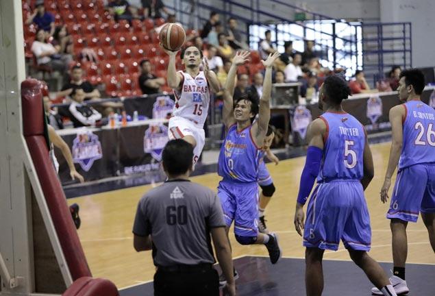 Cedric de Joya hard on himself as Batangas suffers deflating loss to Marinero
