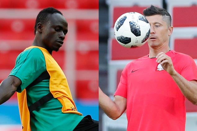 Sadio Mane faces off with Robert Lewandowski as Senegal battles Poland in World Cup