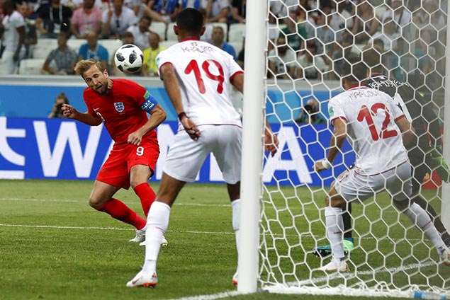 Late Harry Kane header spares England blushes in World Cup debut against Tunisia
