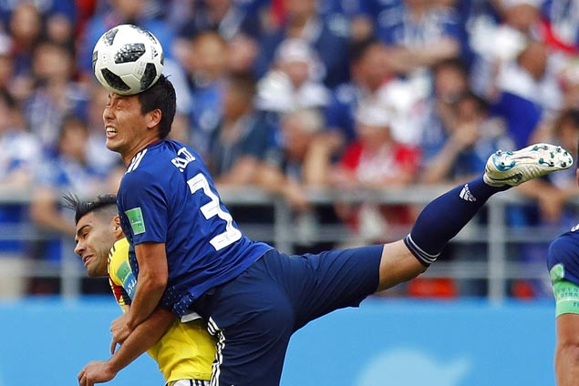 Japan downs Colombia to become first Asian team to beat South Americans in World Cup
