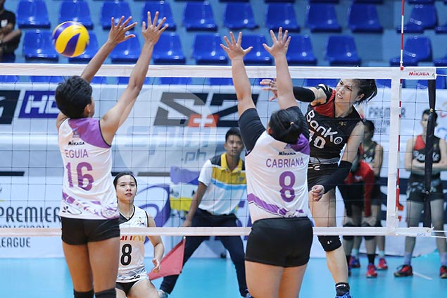 Jutarat's 37-point explosion lifts BanKo Perlas past Iriga-Navy, a win from PVL semis