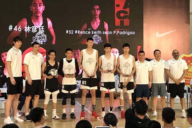 Forthsky Padrigao honored with place in Mythical Five of Nike All-Asia Basketball Camp