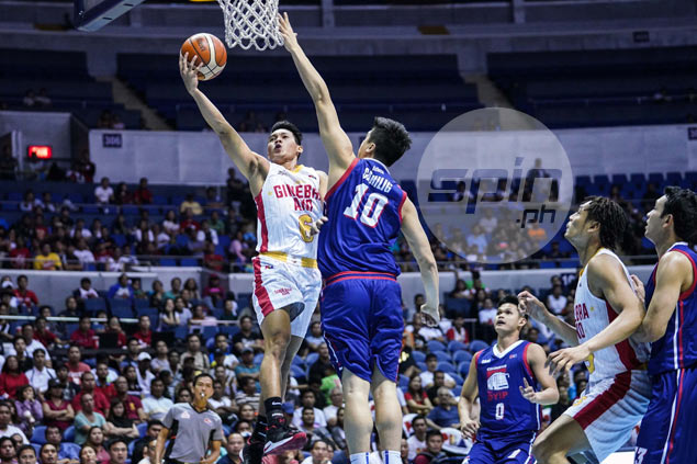 Thompson delivers triple double as Ginebra rips Columbian for third win in a row