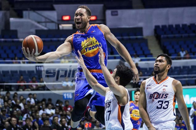TNT endures premature Smith exit owing to injury, holds off late Meralco comeback