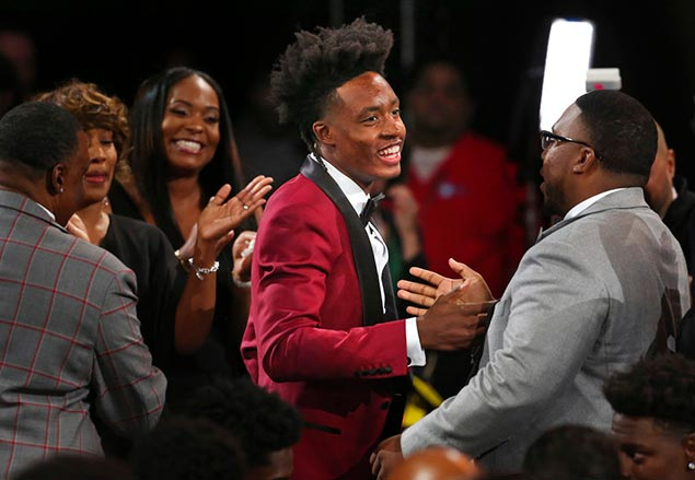 Cavs pick Collin Sexton makes pitch for LeBron James to stay