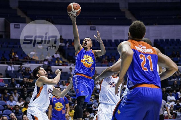 Jayson Castro's back to his old, aggressive self - and that's good news for TNT