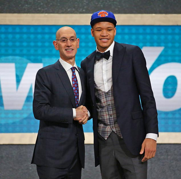 Kevin Knox eager to prove doubting Knicks fans wrong after hearing boos upon selection