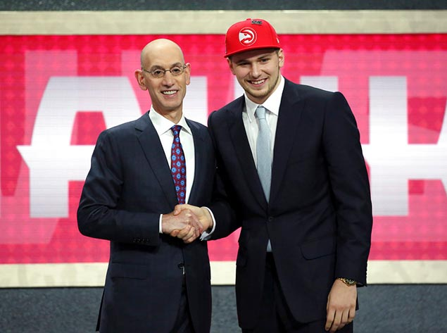 Atlanta pick Luka Doncic traded to Dallas for Trae Young, 2019 first-rounder