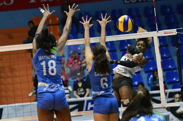 Banko Perlas scores fourth straight win, eliminates BaliPure-NU