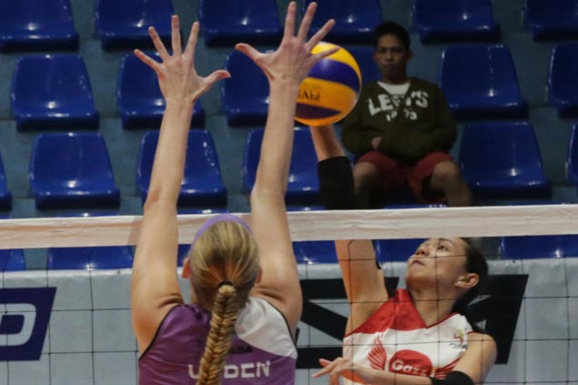 Petro Gazz boosts semis bid with straight-sets win over Iriga-Navy