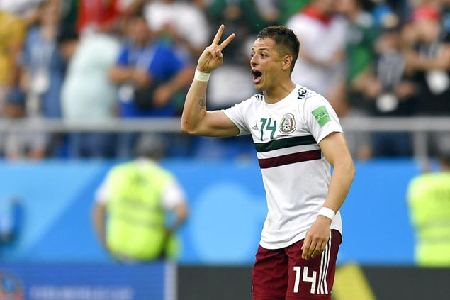 Chicharito, Vela score as Mexico downs Korea to silence critics, close in on last 16