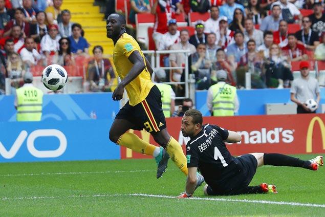 Romelu Lukaku nets another brace as Belgium rips Tunisia to boost bid for top spot in group