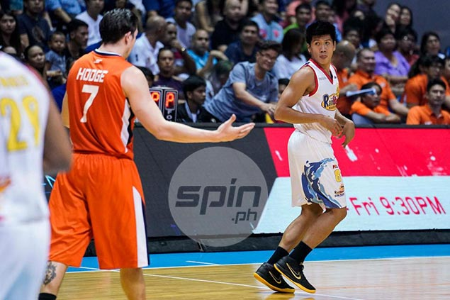 Ed Daquioag says dagger trey against Meralco not meant to spite his former team