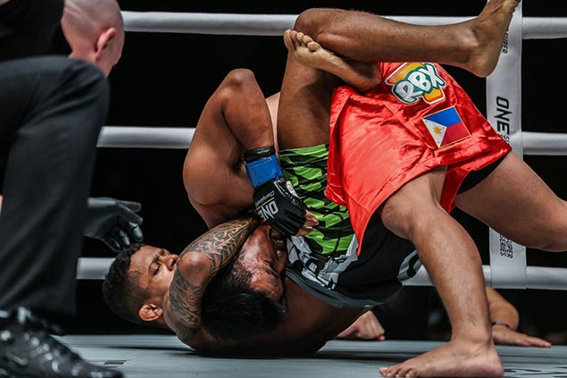 Eustaquio denies Moraes camp's claim he tapped out midway through ONE title bout