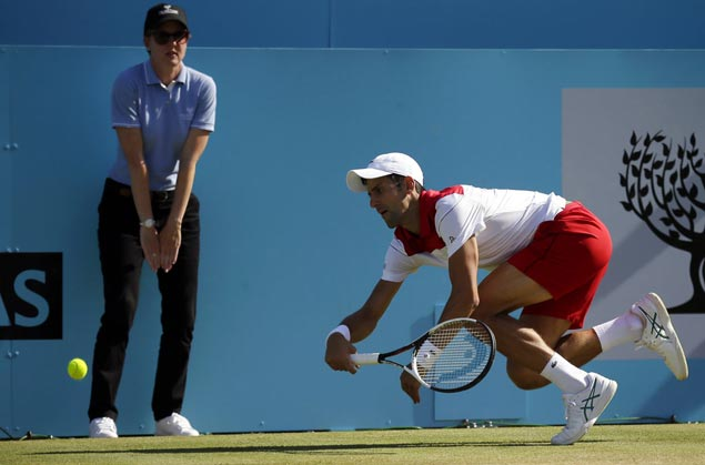 Nole heads into Wimby confident after falling just short at Queen's