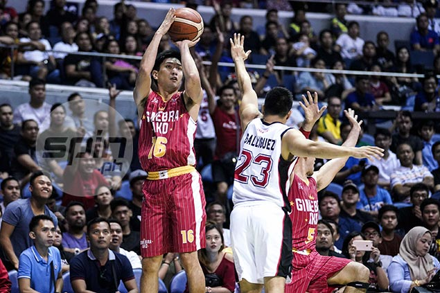 Chan preaches patience to Ginebra fans, assures threes will soon fall