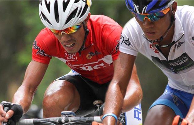 Galedo hangs tough to keep red jersey