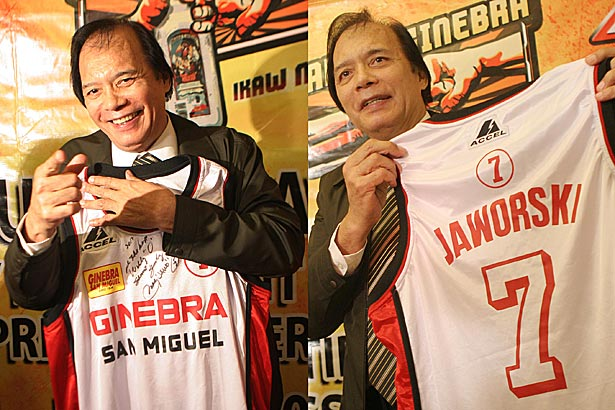 JERSEY STORY: Birthday-boy Robert Jaworski on iconic No. 7 jersey: 'It landed on my lap and I took care of it'