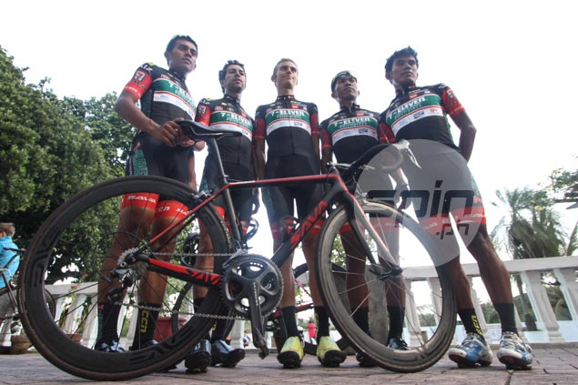 Marcelo Felipe the local rider to watch in Le Tour de Filipinas, says 7-Eleven team manager