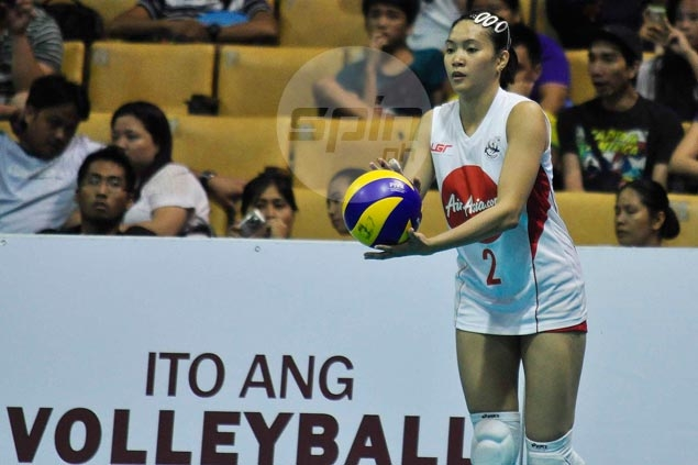 Aby Marano and Meralco Spikers battle Army featuring Dindin Santiago in opener of V-League Reinforced Conference
