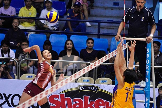 Power Pinays Tabaquero, Maizo return to lift Rising Suns over Air Force and into semifinals