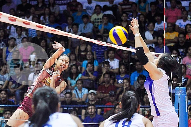 Lady Rising Suns steal spotlight from Lady Troopers after winning opener of V-League Finals