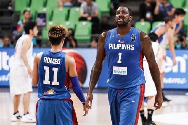 WATCH Despite ankle injury, Andray Blatche comes up with a double-double and more including this huge block on Joji Takeuchi