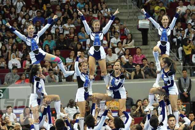 UAAP cheerdance preview: Eighth among eight teams last year, Ateneo sets lofty goal of a podium finish