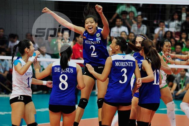 Fit again Bea de Leon surprised to play and be part of starting six in Ateneo's win over La Salle