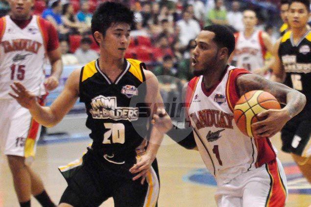 AJ Mandani scores game winner for Tanduay Light over MJM Builders inD-League debut
