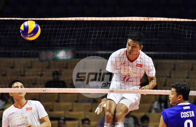 PLDT Air Force thumps 'ageing' Cavite in straight sets