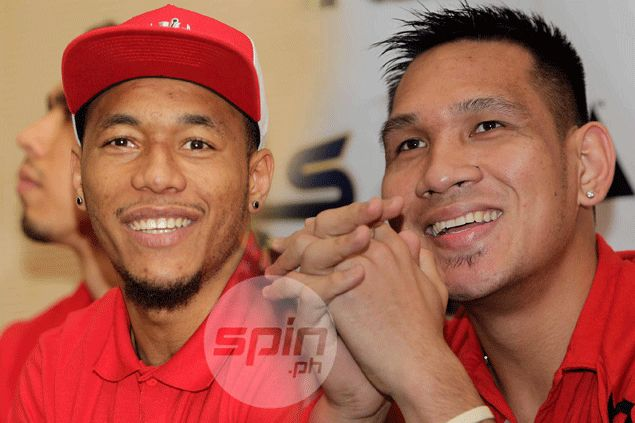 June Mar Fajardo, Calvin Abueva play down rivalry ahead of PBA Philippine Cup Finals